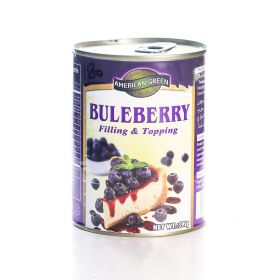 American Green - Blueberry Topping (595g)