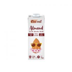 Ecomil - Almond Nature Vanilla Sugar Free (1ltr)