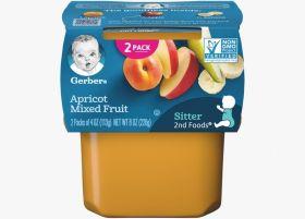 Gerber - Apricot Mixed Fruit - 113g