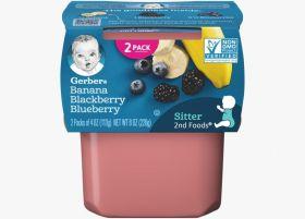 Gerber - Banana Blackberry Blueberry - 113g
