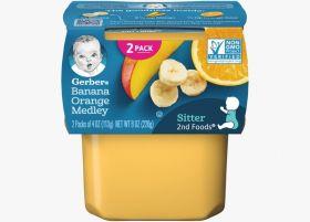 Gerber - Banana Orange Medly - 113g