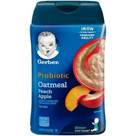 Gerber - Oatmeal Peach Apple - 227g