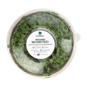 Clean Greens - Microgreens Mustard Pizzo